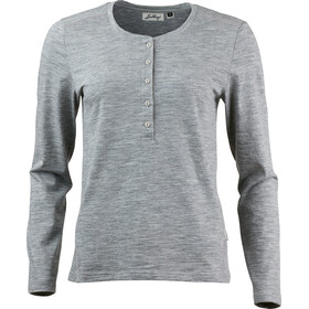 Lundhags W's Merino Light LS Top Light Grey